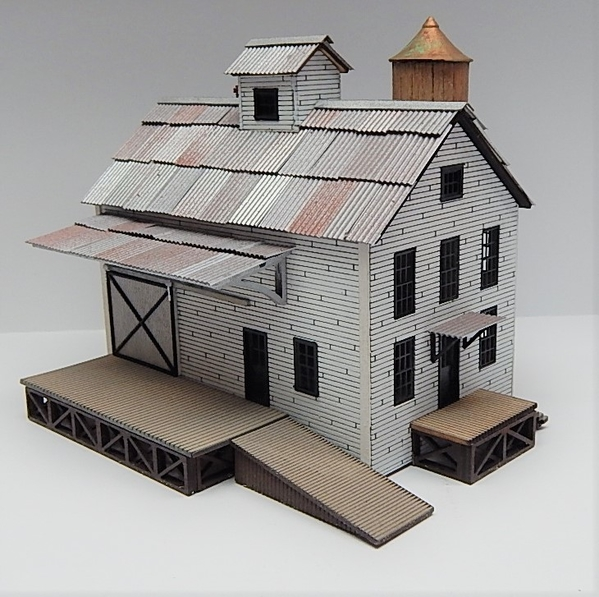 O scale Factory Main Building L