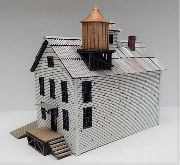 O scale Factory Main Building R
