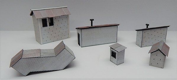 O scale Factory Out Buildings R