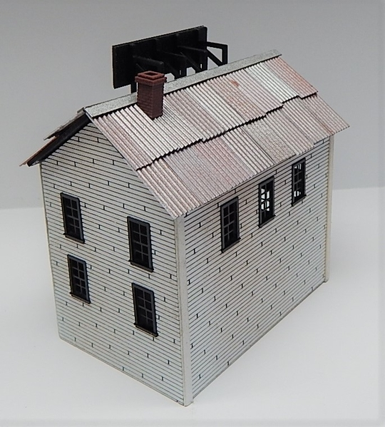 O scale Factory Secodary Building L