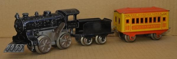 Dorfan c-w passenger set
