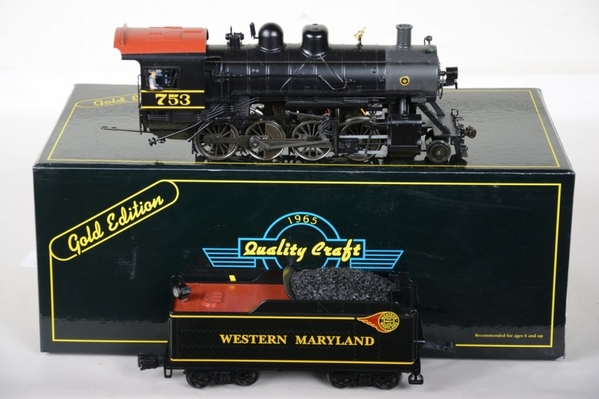 Weaver 1804-LP WM # 753 Fireball Baldwin 2-8-0 Consolidation with TMCC & RS - Actual Photo2