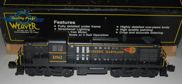 Weaver 5506 WM RS-3 Diesel FIREBALL Paint Scheme - SAMPLE PHOTO OF NEWER, BLACK-BOX MODEL3