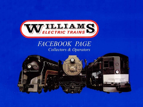 New members only Facebook page solely for Williams Electric Trains