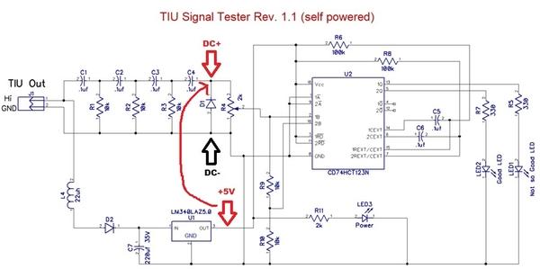 DC trigger calibration