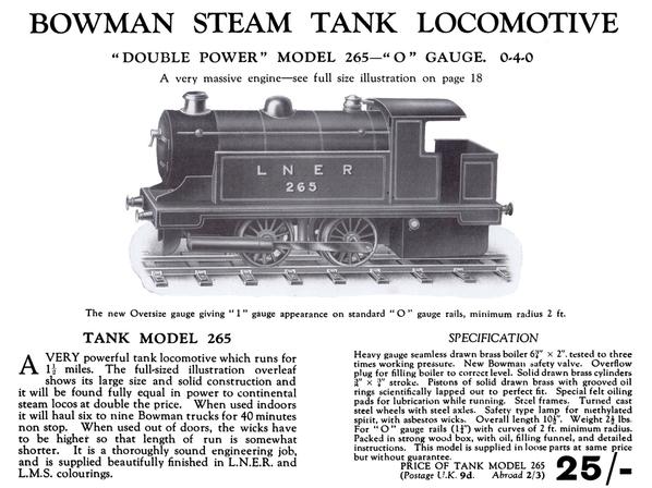 Steam 040 BowmanCat 1931