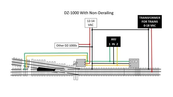 DZ-1000 non-derailing w AIU