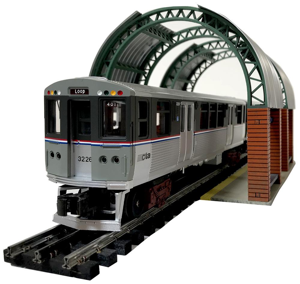 Light Rails: Light Rail Station Kit... Today's Ferroequinologist Friday