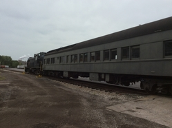 """One of MRPS's many Pullman coaches, this one named """"Mt. Baxter"""""""