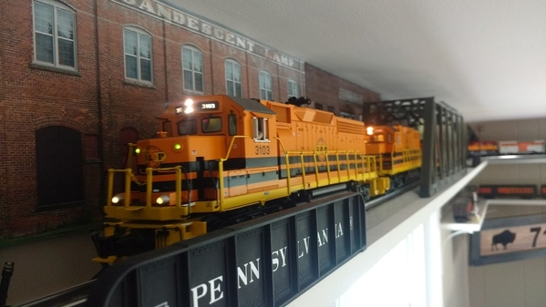 Buffalo Pittsburgh RR Lakewood NY