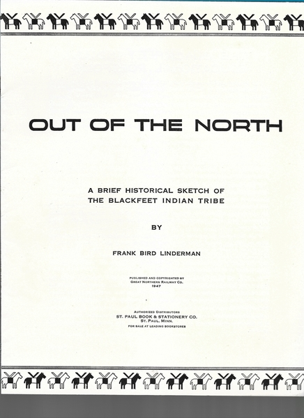 OUT OF THE NORTH 01 TITLE PAGE