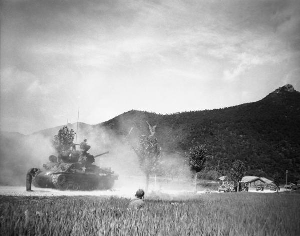 Korean War Sherman