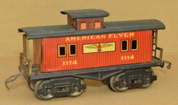 AF 1114-1117 caboose-1114