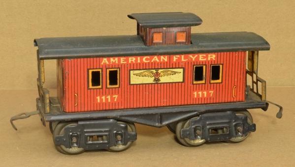 AF 1114-1117 caboose-1117