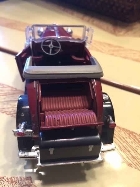 Model A rear