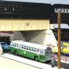 SHORRD01: Corgi NYCTA GM bus, with back-dated paint job, Staten Island markings.