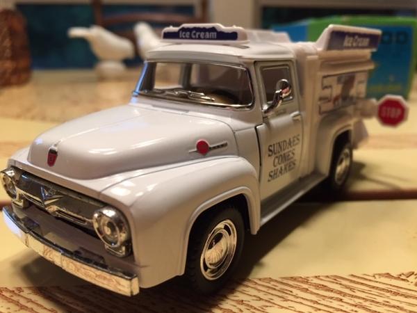 Ice Cream Truck front