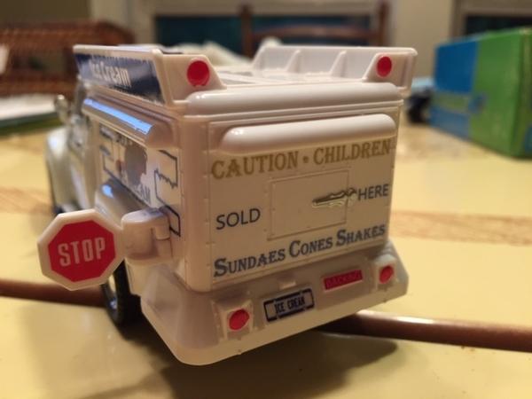 Ice Cream Truck rear