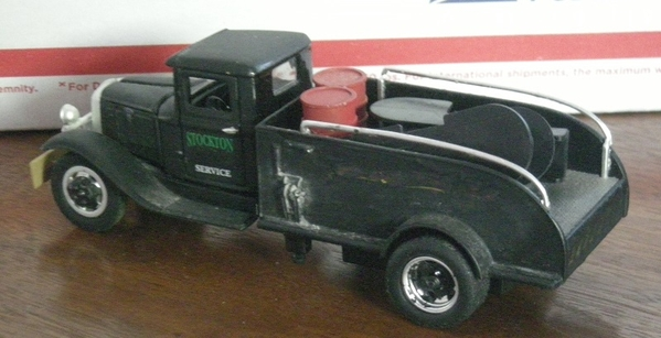 BB-157 Heavy delivery truck left side