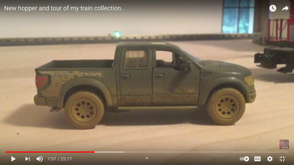 Kinsmart Ford Raptor Muddy