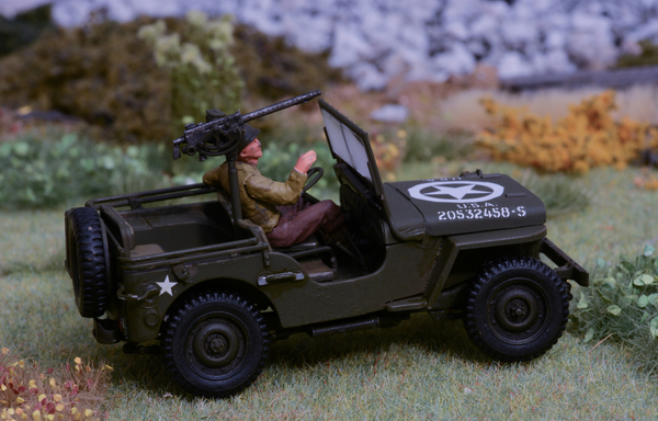 Army Jeep and soldiers #6 [1 of 1)