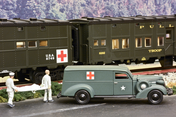Military Hospital Troop Train #6 [1 of 1)