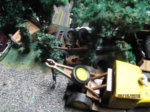 2) junkyard wrecker [8) crp