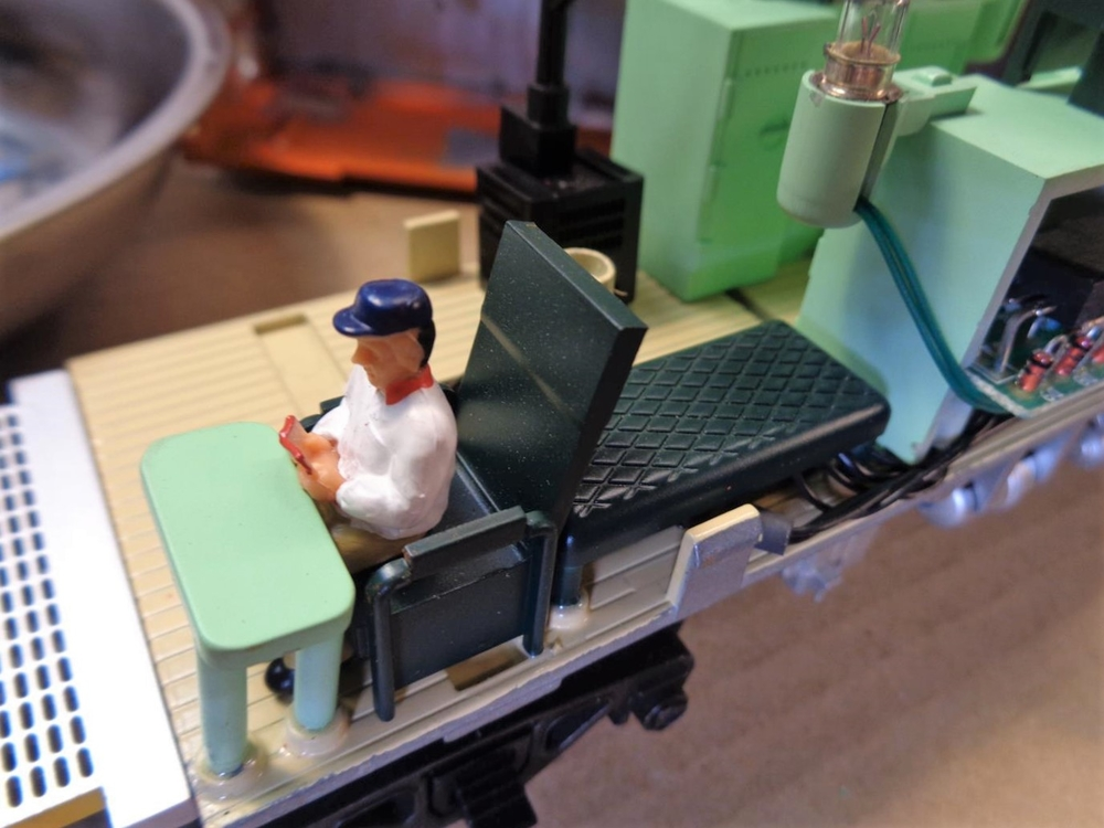 ATLAS O EV Caboose – Interior details    | O Gauge Railroading On