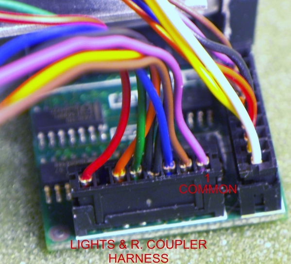 LIGHTS R.COUPLER HARNESS