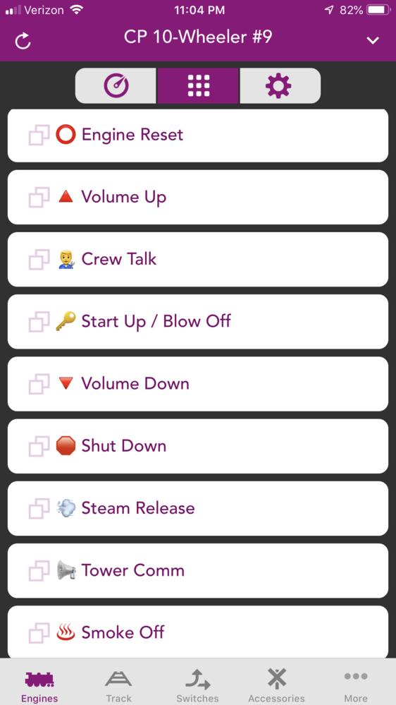 Adding Icons to MTH DCS Wifi App Softkeys   O Gauge Railroading On