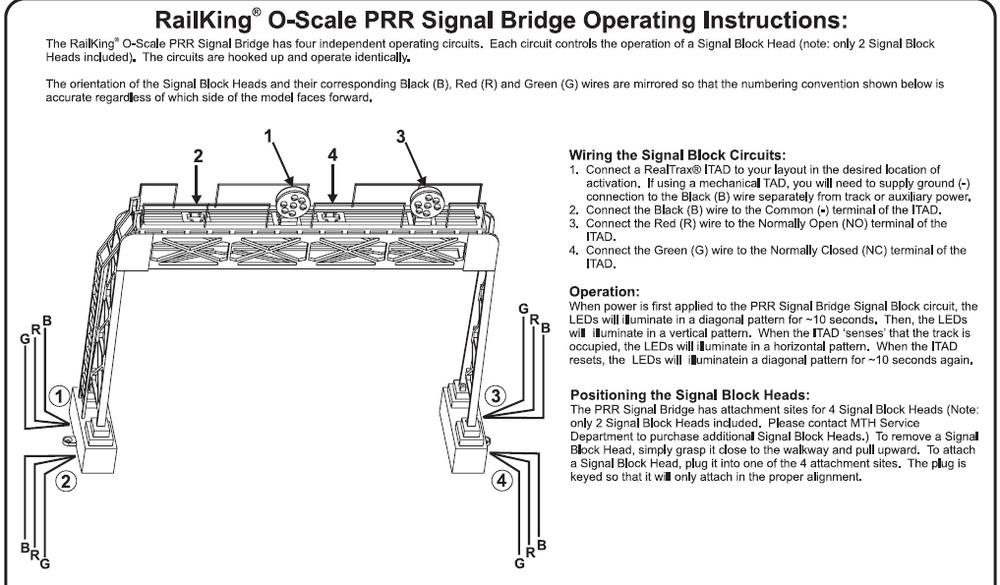 MTH O Scale Vertical Signal
