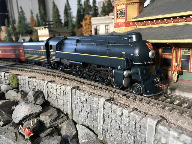 HO Scale Streamlined K4 | O Gauge Railroading On Line Forum