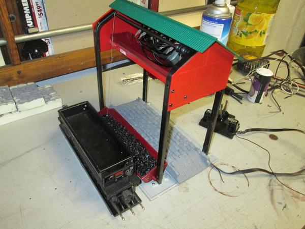 daniels modified 497 lionel coal loader o gauge. Black Bedroom Furniture Sets. Home Design Ideas