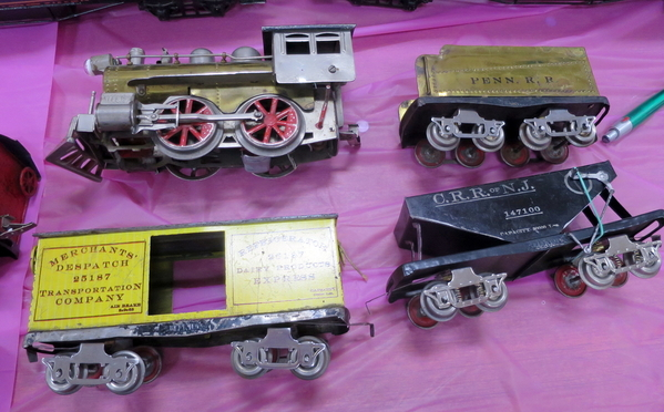 Elektoy set- hopper car has truck springs