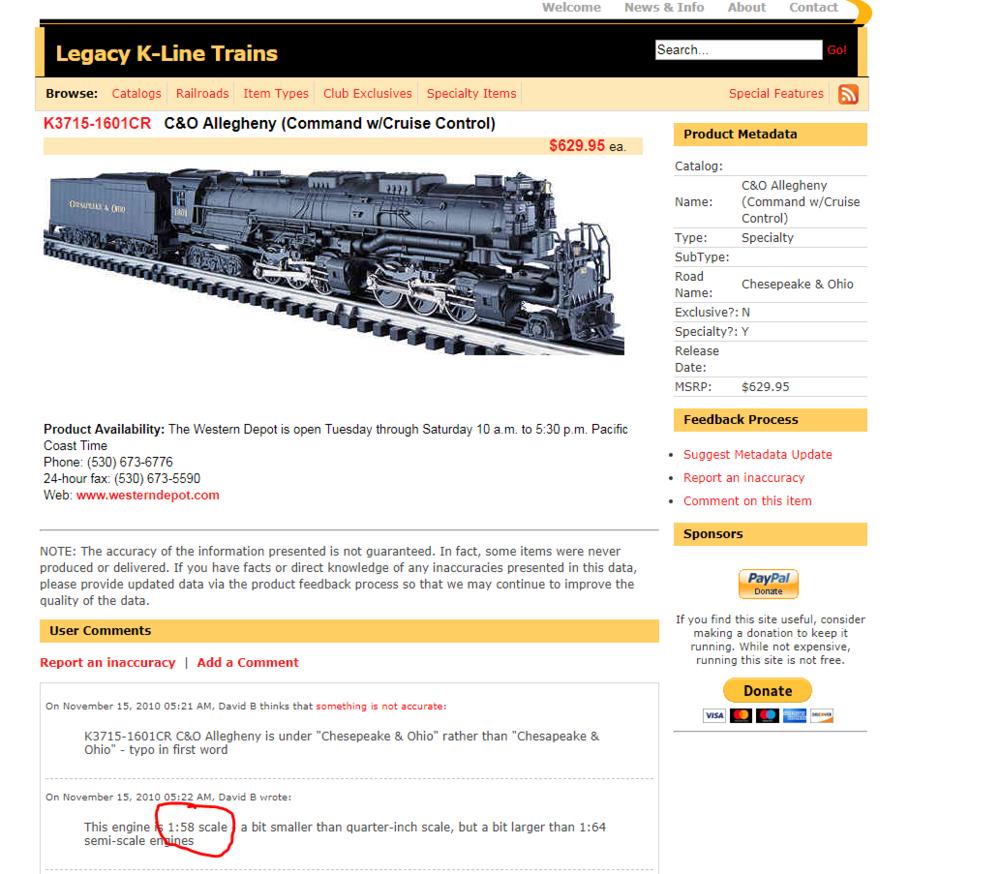 K-Line brand H8 Allegheny | O Gauge Railroading On Line Forum