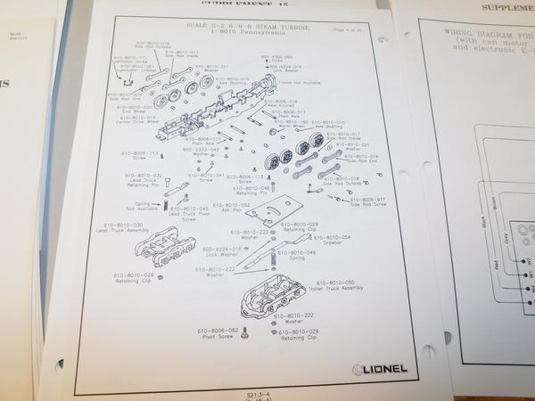 lionel service station supplements and exploded diagrams. Black Bedroom Furniture Sets. Home Design Ideas