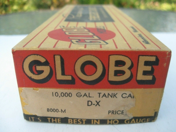 Globe DX box