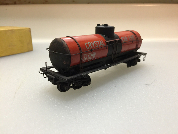ATH Crystal tank car