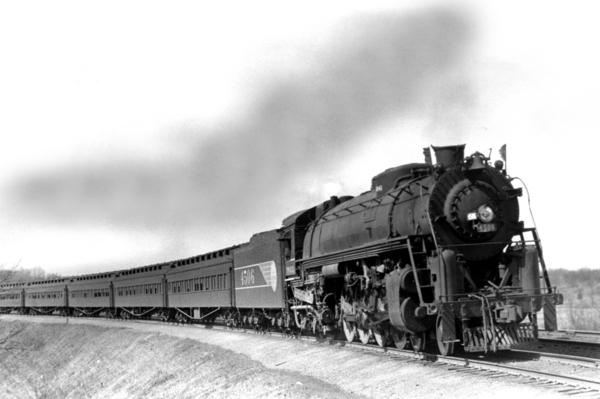 4-8-4 SLSF 4506
