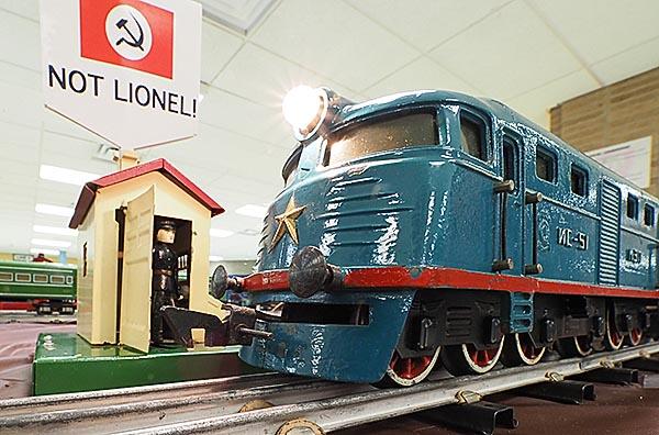 Blue Russian Train