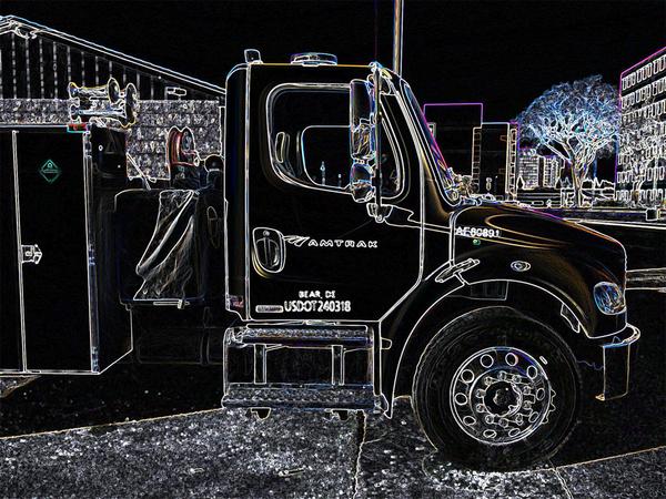 5 Amtrack Truck