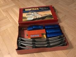 aerotrain set in blue w box