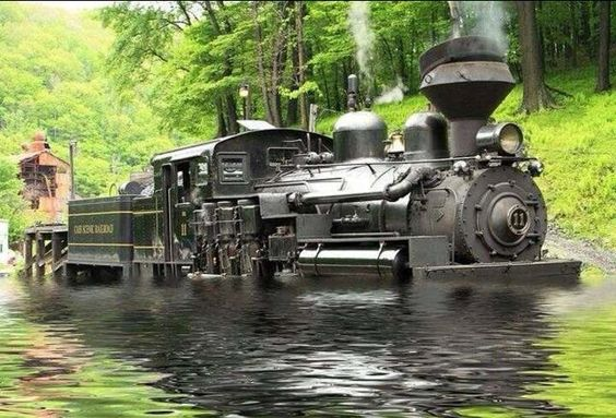 Steam Engines In Water 6
