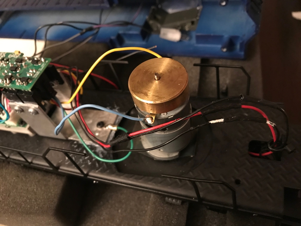 Lionel AC Pullmor Motor Conversion to DC Can Motor with TMCC ... on