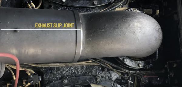 7 Exhuaut Slip Joint