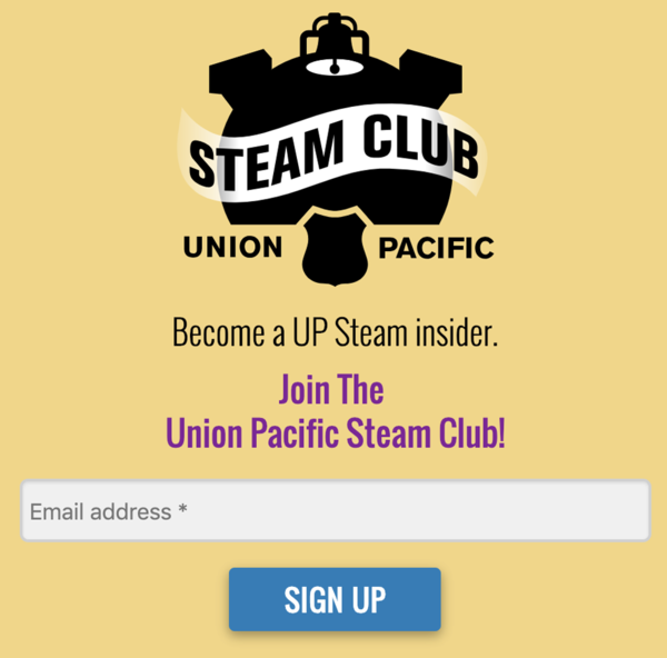 1A Sign UP for UP Steam Club