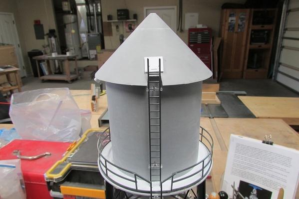 Cone Top Water Tank 003