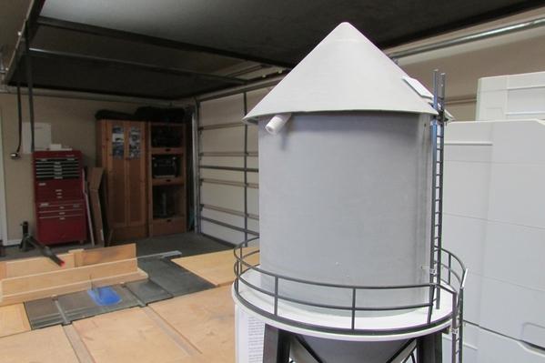 Cone Top Water Tank 004