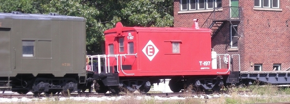 Griffith Erie transfer caboose