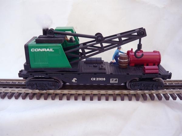 Conrail Flat - Crane MOW